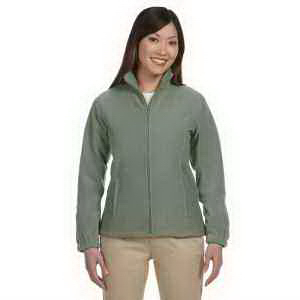 Harriton Ladies' 8 oz Full Zip Fleece
