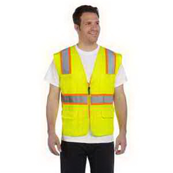 Classic Mesh Two-Tone Surveyor Vest