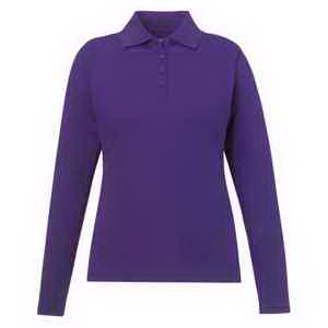 Ladies' Pinnacle Performance Long-Sleeve Pique Polo