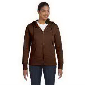 Ladies' 9 oz Organic / Recycled Full Zip Hood
