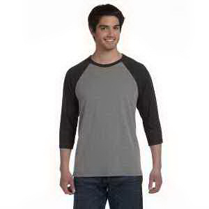 Bella + Canvas Unisex 3/4-Sleeve Baseball T-Shirt