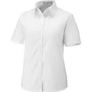 North End (R) Ladies' Maldon Short-Sleeve Oxford Shirt
