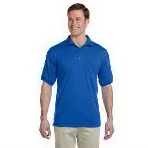 5.6 oz DryBlend (R) 50/50 Jersey Polo with Pocket