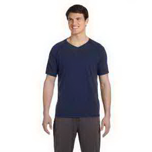 Alo Men's Performance Triblend Short-Sleeve V-Neck T-Shirt