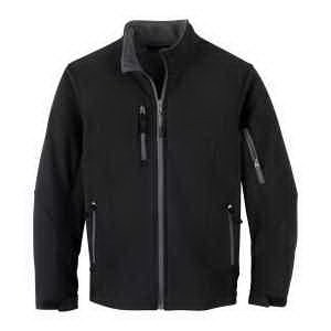 North End (R) Youth Compass Colorblock Soft Shell Jacket