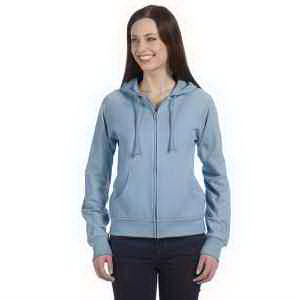 Bella + Canvas Ladies' Fleece Full-Zip Raglan Hoodie