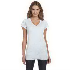Alternative Ladies' Diane V-Neck Burnout Tunic