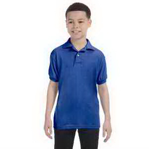 Youth 5.5 oz 50/50 Jersey Knit Polo