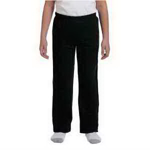 Youth 8 oz Heavy Blend (TM) 50/50 open-bottom sweat pants