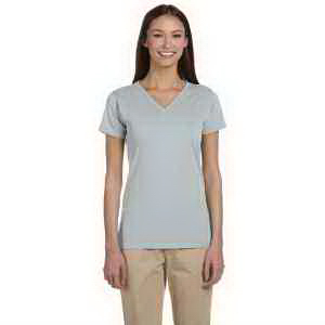 Econscious 4.4 oz, 100% Organic Cotton Short-Sleeve V-Neck T