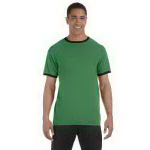 Authentic Pigment 5.6 oz Pigment-Dyed Ringer T-Shirt