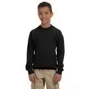 Youth 8 oz Heavy Blend (TM) 50/50 Fleece Crew