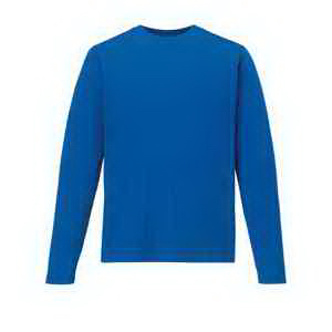 Men's Agility Performance Long-Sleeve Pique Crew Neck