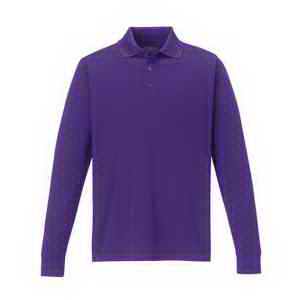 Men's Pinnacle Performance Long-Sleeve Pique Polo