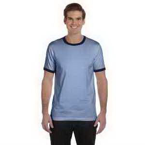 Bella + Canvas Men's Jersey Short-Sleeve Ringer T-Shirt