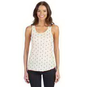 Alternative Ladies' Meegs Printed Racer Tank