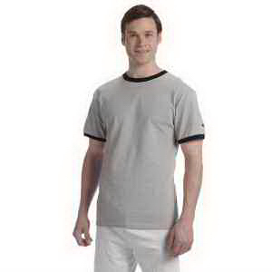 Champion 6.1 oz Tagless Ringer T-Shirt