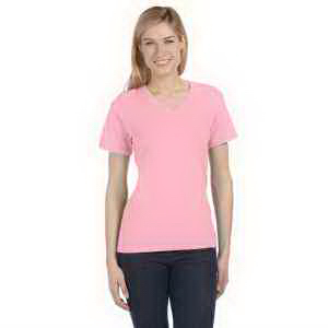 Bella + Canvas Ladies' Relaxed Short-Sleeve V-Neck T-Shirt