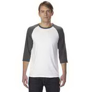 Anvil Adult Triblend 3/4-Sleeve Raglan T-Shirt