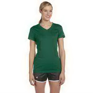Russell Athletic Ladies' Dri-Power (R) V-Neck T-Shirt