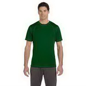 Alo Men's Short-Sleeve Interlock Pieced T-Shirt