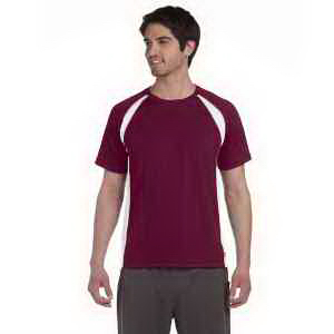 Alo Men's Short-Sleeve Colorblocked Crew