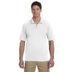 6.5 oz 100% Organic Cotton Pique Polo