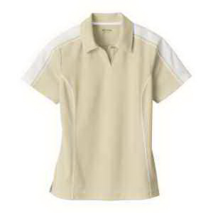 Extreme Eperformance (TM) Ladies' Pique Colorblock Polo