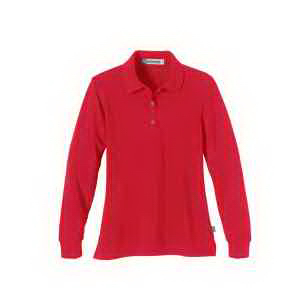 Extreme Ladies' Pique Long-Sleeve Polo with Teflon(R)