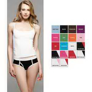 Bella + Canvas Ladies' Cotton/Spandex Boyfriend Brief