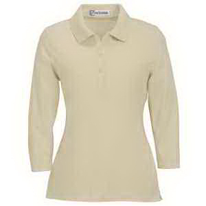 Extreme Ladies' 3/4-Sleeve Stretch Jersey Polo