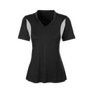 Ladies' Short-Sleeve Athletic V-Neck All Sport Jersey