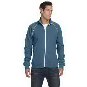 Bella + Canvas Men's Piped Fleece Jacket