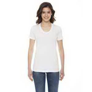American Apparel Ladies' Poly-Cotton Short-Sleeve Crewneck