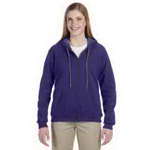 Heavy Blend (TM) Ladies' 8 oz vintage classic full-zip hood