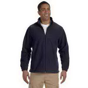 Harriton Men's 8 oz Full-Zip Fleece