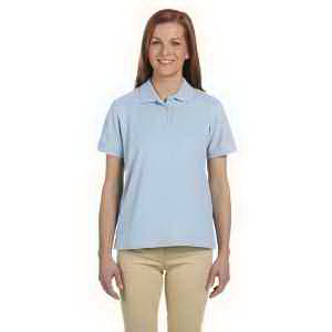 Devon & Jones Ladies' Pima Pique Short-Sleeve Polo