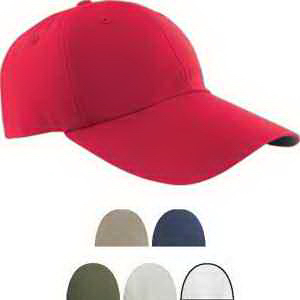 Six Panel Cap with Elongated Bill