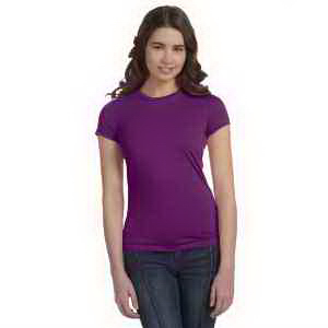 Bella + Canvas Ladies' Poly-Cotton Short-Sleeve T-Shirt
