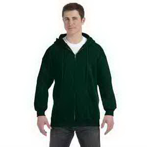 10 oz Ultimate Cotton (R) 90/10 Full Zip Hood
