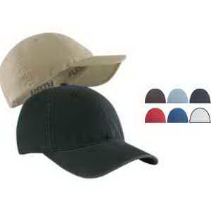 Garment Washed Twill Cap