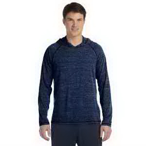 Alo Men's Performance Triblend Jersey Long Sleeve Hooded