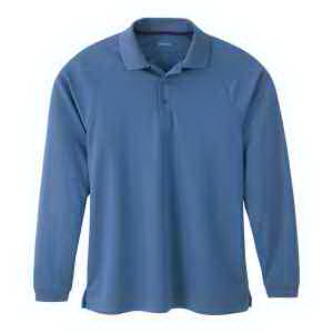 Extreme Eperformance(TM) Men's Long-Sleeve Pique Polo