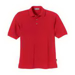 Extreme Men's Pique Short-Sleeve Polo with Teflon(