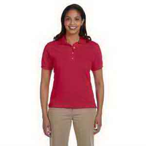 Ladies' 6.5 oz Cotton Pique Polo