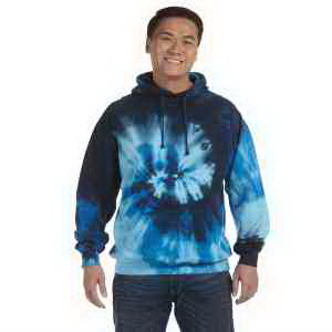 8.5 oz Tie-Dyed Pullover Hood