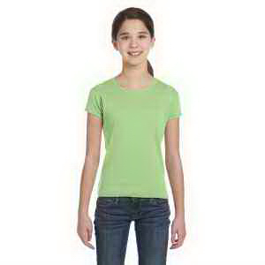 Girls' Baby Rib Short-Sleeve T-Shirt