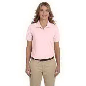 Harriton Ladies' 5.6 oz Easy Blend (TM) Polo