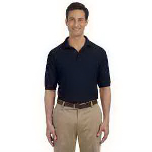Harriton 5.6 oz Easy Blend (TM) Polo with Pocket