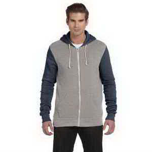 Alternative Men's Rocky Colorblocked Full-Zip Hoodie